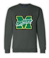 Miles Mac Buckeyes Champion Embroidered Crewneck