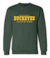 Miles Mac Grad Champion Crewneck