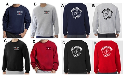 #PABCStrong Fleece Crew Sweatshirt