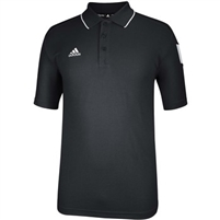 ADIDAS SIDELINE POLO BLACK/WHITE