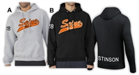 Seine River Baseball Pullover Hoodie