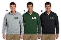 SJR School Apparel 1/4 Zip Sweatshirt