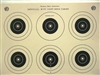 NRA Official Smallbore Rifle Target  A-32 - Box of 1000