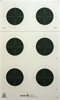 NRA Official Small bore Rifle Target  A-51 - Box of 250