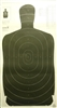 B27A Target - Official NRA Police Qualification Silhouette - Box of 100