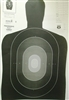 Official Police Qualification Silhouette B27PRO Target - Box of 200