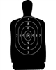 Official NRA Police Qualification Silhouette B34 Target - Box of 500