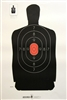 Police Silhouette B34G Target Reduced B-27 - Box of 500