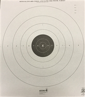 NRA Official Pistol Target  B-8P - 25 Yd Timed/Rapid Fire - Box of 500
