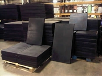 Vulcanized Ballistic Rubber - Multiple Sizes - Call for pricing (908) 355-8600