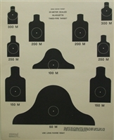 DOD - M16-A1TF 25 Meter Timed Fire Course - Box of 250