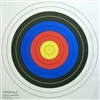 G68 Range Target- 4 Color Archery Bulls-eye - Box of 250
