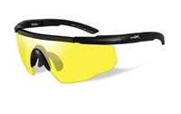 Wiley-X Shooter Wrap Glasses Yellow - EA