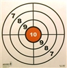 "GX Range Target - 10"" Bulls-eye - Box of 500"