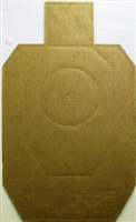 Official New 2017 IDPA Cardboard Targets - Bundle of 100