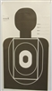 Cook County Custom Silhouette Training Target - Box of 200