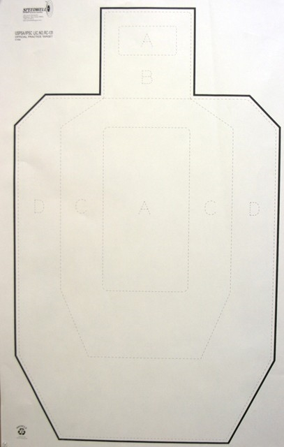 Official IPSC Practice Paper - Box of 200