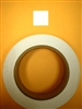 "Target Pasters - 1"" Square Pasters White - Roll of 1000"