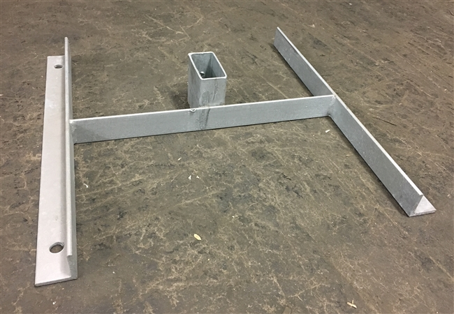 2 x 4 Base & Head  Steel Stand