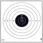 Official NRA SR - 200 Yd Rifle Target - Box of 100
