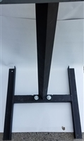 H-Style Heavy Duty Target Stand for Steel Targets - EA