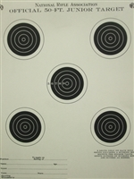 Official NRA TQ-1 5 Junior Rifle Target - Box of 1000