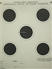 Official NRA TQ-1/5T Junior Rifle Target - Box of 1000