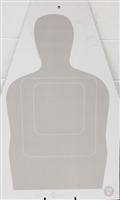 US Customs TQ-15 Cardboard Target - Box of 100