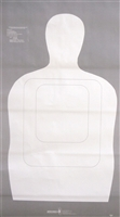 Official NRA TQ15N Reversed Target - Box of 100