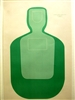 TQ-19 Green Official Training and Qualification Target - Box of 100