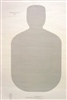 Official NRA TQ-22 - 50 Ft Police Silhouette Target - Box of 500