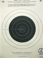 Official NRA TQ 3/1 - Smallbore Rifle Target - Box of 1000