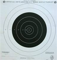 Official NRA TQ-4 - 100 Yd Smallbore Rifle Target - Box of 1000