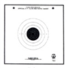 Official NRA TQ-6 - 25 Ft Slow Fire Pistol Target - Box of 1000