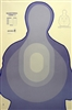 TSR-I DHS Blue Silhouette Target -  Box of 500