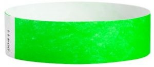 "Tyvek® 3/4"" Solid Color Wristbands-Medical Triage"
