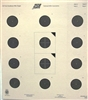 Official NRA USA-50 - 50 FT Smallbore Rifle Target - Box of 1000