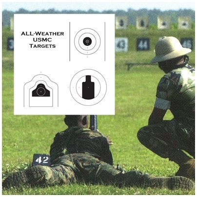"All-Weatherâ""¢ - USMC Training Targets - Min 1000 Units"