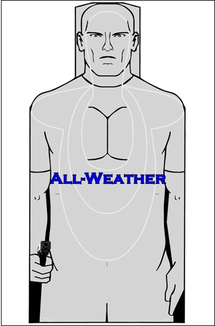 All-Weather - USMC MPMS-1 Silhouette Target