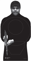USMC - Threat Silhouette Target - Box of 500
