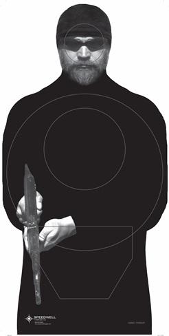 Usmc Threat Silhouette Target Box Of 500