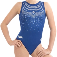 LIMITED EDITION USA Loyalty National Team Replica Leotard