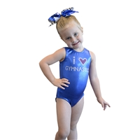 GK I Love Gymnastics Leotard (more colors)