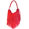 Woodstock 2360F Fringed Hobo w/ Removable Shoulder Strap