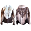 Lizzie 1970 Fringe Jacket w/ Coyote Collar