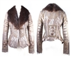 Totem Jacket w/ Fur Collar