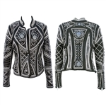 Victoria Embroidered Elements Jacket With Pearls