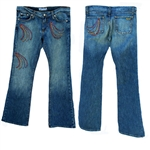 Catscratch denim jeans