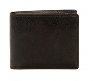 Boconi Becker RFID Billfold in Black Aspen