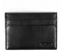 Boconi Becker Collection RFID Weekender ID Card Case in Black